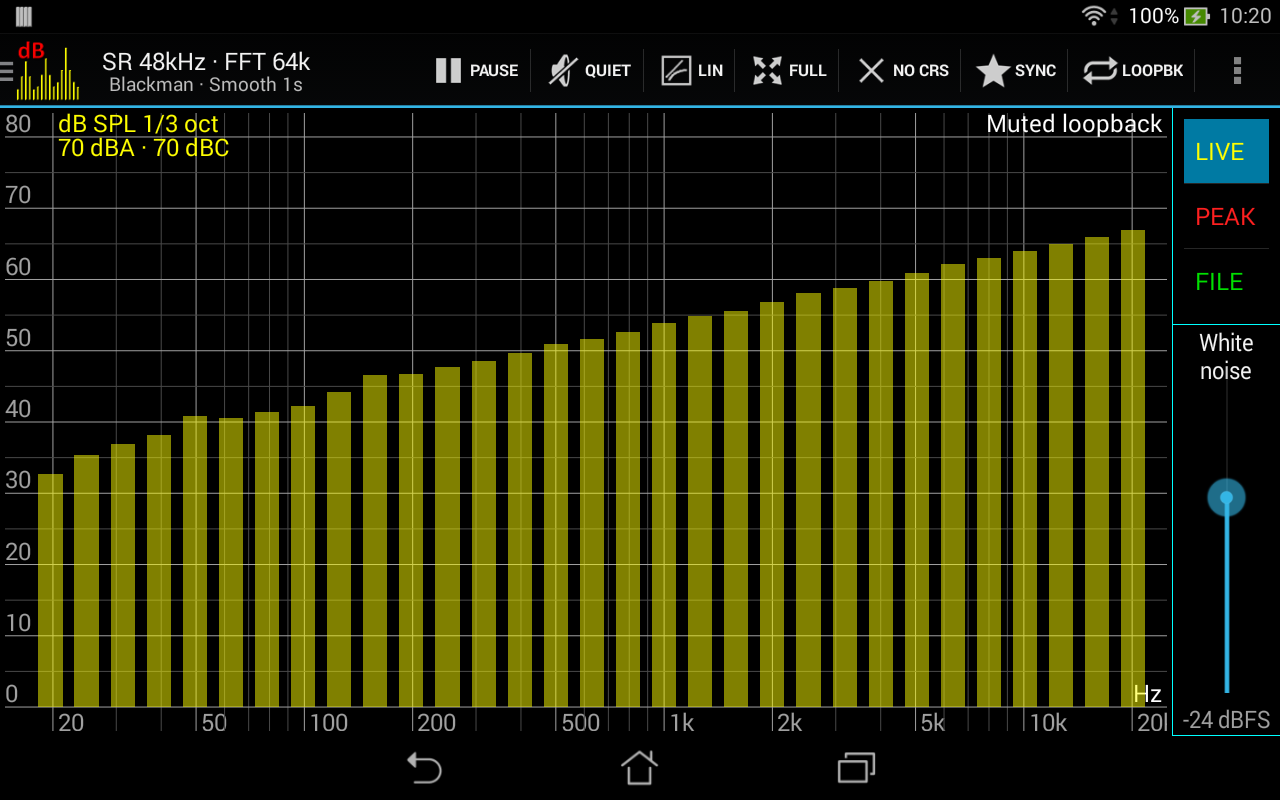 Sound Spectrum Pro Screenshots